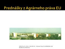 Vlastníctvo poľnohospodárskej pôdy na Slovensku