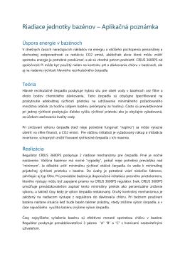 Aplikačná poznámka - processinstruments.sk