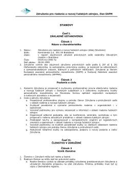 Stanovami - Združenie pre riadenie a rozvoj ľudských zdrojov