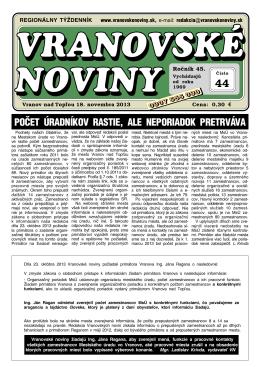 VN2013-44a - Vranovské noviny