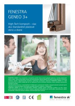 FENESTRA GENEO 3+