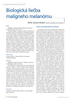 Biologická liečba malígneho melanómu
