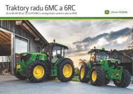 Traktory radu 6MC a 6RC