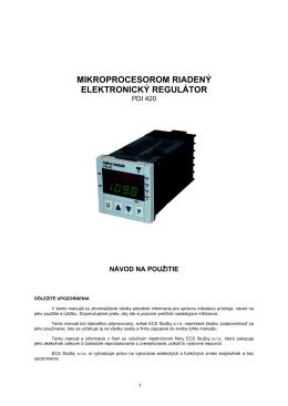PDI 420 Sk - ECS Služby