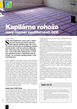 nový rozmer využiteľnosti OZE