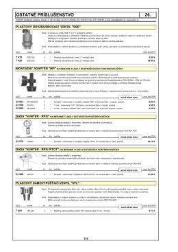 26.ostatnÉ prÍsluŠenstvo (pdf - 234.86 kB)