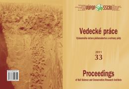 Rok 2011 - Výskumný ústav pôdoznalectva a ochrany pôdy
