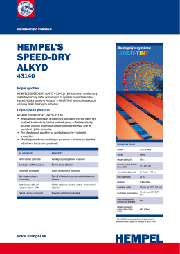 hempel`s speed-dry alkyd 43140