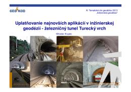 železnicný tunel Turecký vrch