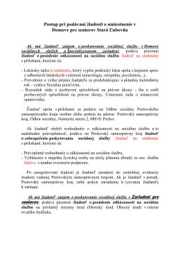 Postup pre uchadzaca.pdf - Domov pre seniorov Stará Ľubovňa