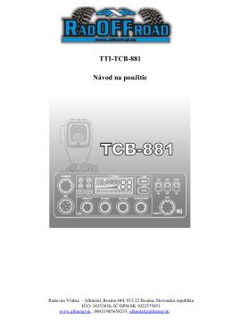 Vysielačka CB TTI 881.docx