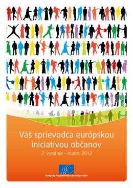 Váš sprievodca európskou iniciatívou občanov