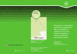 Stará Lesná - Bayer CropScience