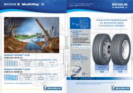 Michelin X® MultiWay™ 3D - Michelin Nákladné vozidlá