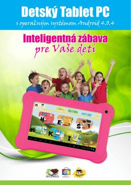 Detský Tablet PC
