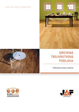 Eurowood Drenená 3-vrstvová Podlaha