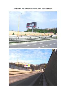 11B, KOŠICE III, Furča, Sečovská cesta, smer na - AVS