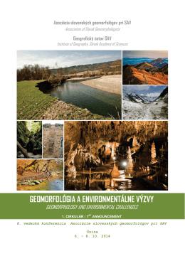 geomorfológia a environmentálne výzvy