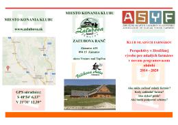 program klubu mladých farmárov