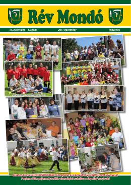 IX. évfolyam 1. szám 2011 december ingyenes