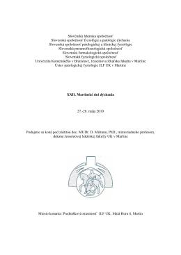 Slovenská lekárska spoločnosť Slovenská spoločnosť