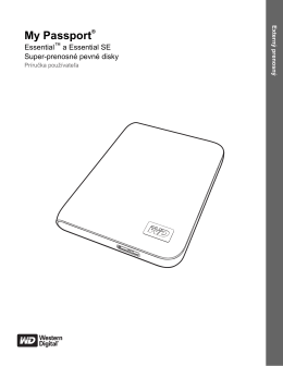 My Passport® - Western Digital