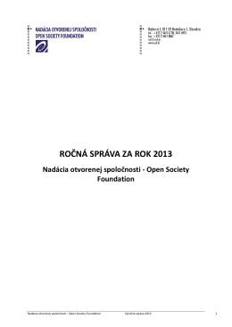 pdf, 1.92 MB Výročná správa 2013