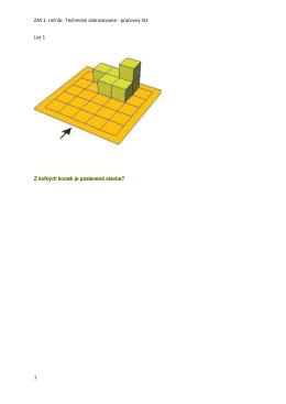ZAS 1. ročník: Technické zobrazovanie