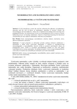 Full paper - Univerzita Konštantína Filozofa v Nitre