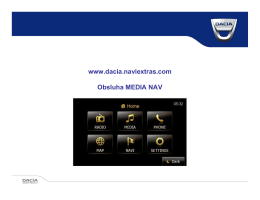 MediaNav - aktualizace map