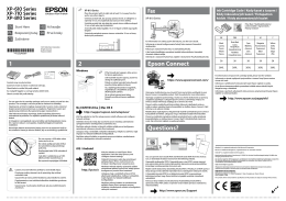 2 1 Epson Connect Questions? Fax