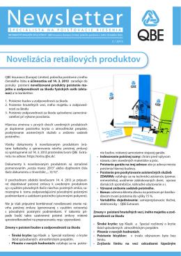 Novelizácia retailových produktov