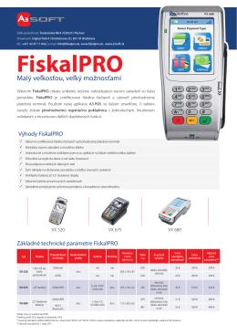 FiskalPRO - A3 Soft sro