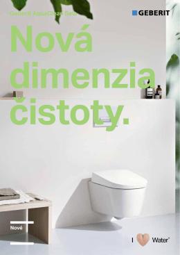 Nová dimenzia čistoty (leták Geberit AquaClean Sela)