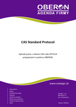 CAS Standard Protocol
