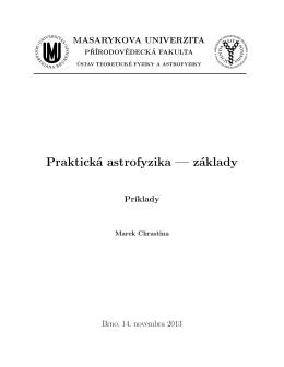 Zbierka príkladov [pdf]