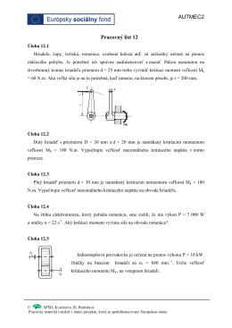Pracovný list 13 - spsdkvacalova.sk
