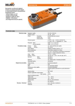 Technický list SF230A-S2