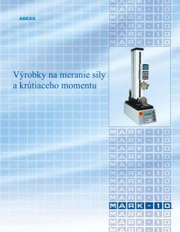 Výrobky na meranie sily a krútiaceho momentu