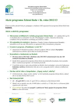 Úvodný workshop pre pilotné školy: