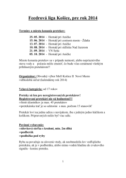 feedrova liga 2014
