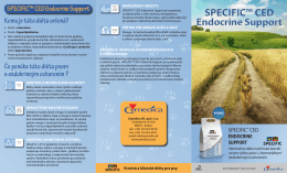 SPECIFIC™ CED Endocrine Support SPECIFIC™ CED
