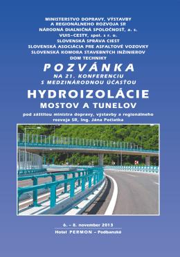 Hydroizolácie mostov a tunelov