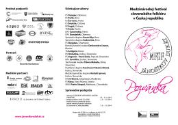 Pozvánka na XVI. MFSF Jánošíkov dukát 2014