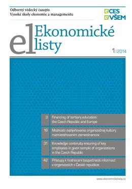 elEkonomické listy