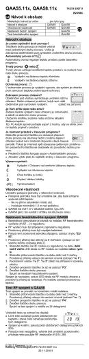 SIEMENS – Čidlo teploty QAA55.110
