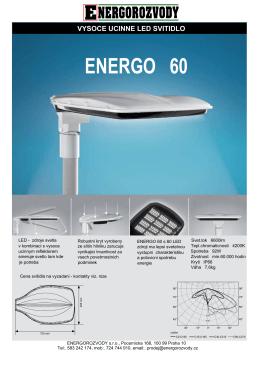 ENERGO 60 - ENERGOROZVODY sro