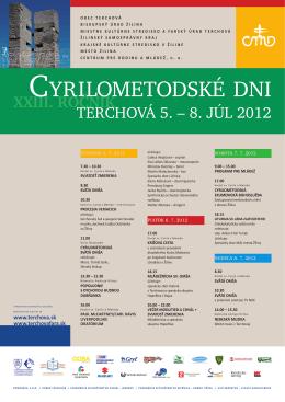 Terchová 5. – 8. júl 2012