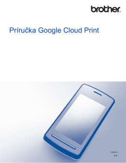 Príručka Google Cloud Print