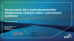 Spracovanie dát z hydrodynamického - esri